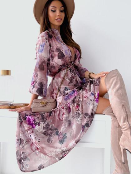 Sukienka FLORALETTE lilac...