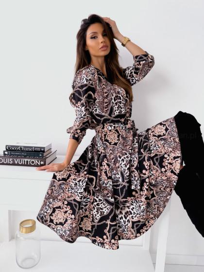 Sukienka SOLVE AUTUMN black...
