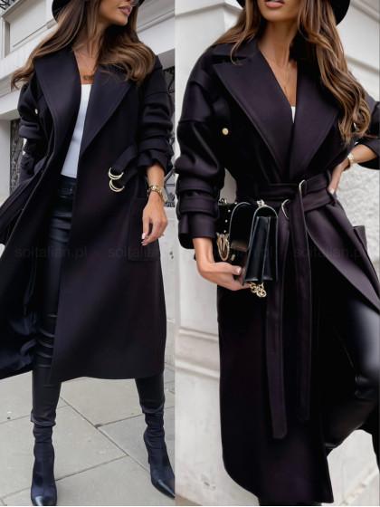 Płaszcz FONTAIN black