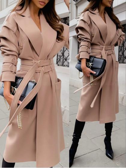 Płaszcz FONTAIN beige