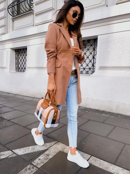 Płaszcz STREET camel