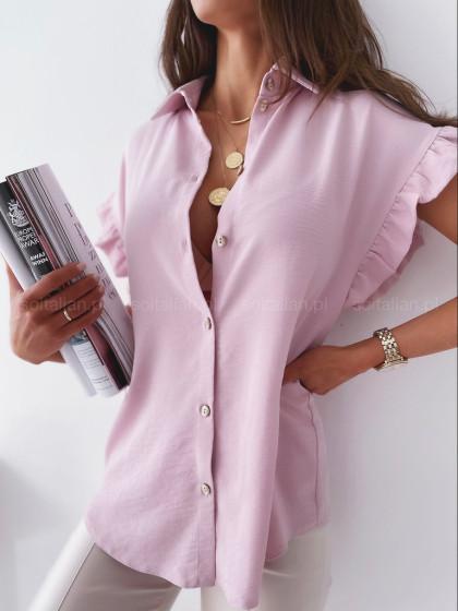Bluzka LILY FRILL pink