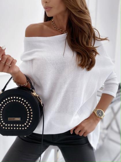 Sweterek ROYALE white