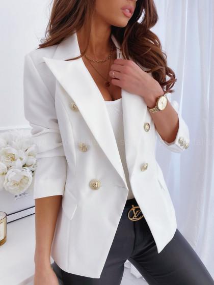 Marynarka LUXILY creamy white